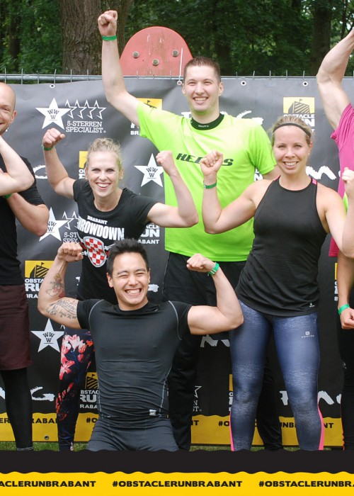 Obstacle Run Brabant Finish 2019